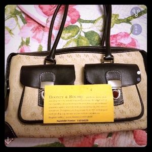 Authentic Dooney &Bourke bag
